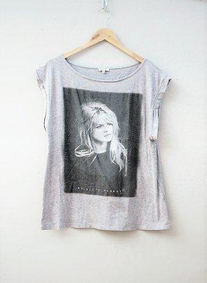 Brigitte Bardot T-shirt lichtgrijs-grijs