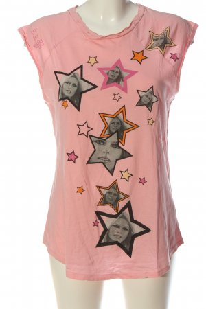 Brigitte Bardot T-Shirt pink themed print casual look