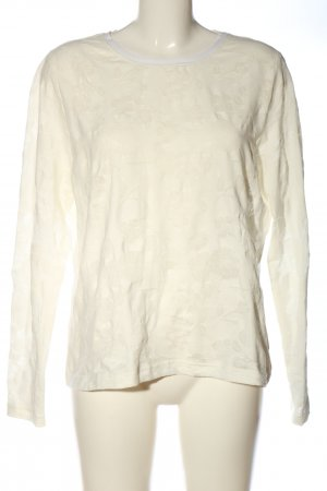 Brigitte Büge Blouse met lange mouwen wit casual uitstraling