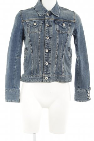 Brigitte von Boch Spijkerjack blauw Jeans-look