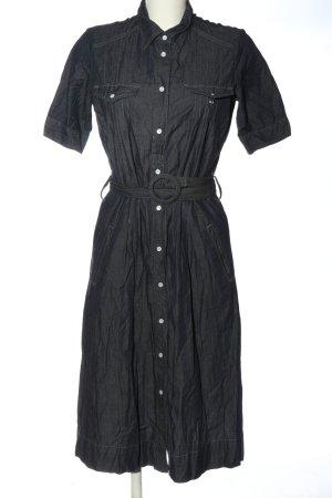 Brigitte von Boch Robe en jean gris clair style décontracté