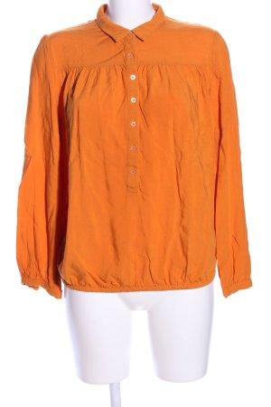 Brigitte von Boch Blouse met lange mouwen licht Oranje casual uitstraling
