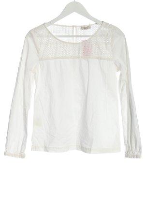Brigitte von Boch Long Sleeve Blouse white casual look