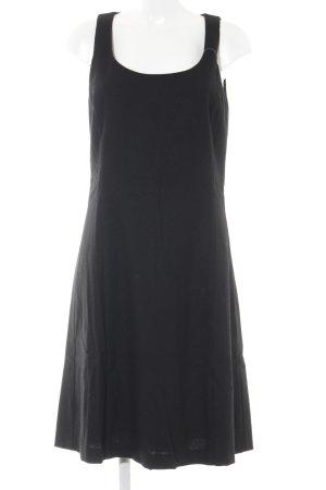 Brigitte von Boch Midi-jurk zwart elegant
