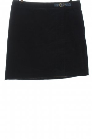 Brigitte von Boch Mini-jupe motif rayé style décontracté