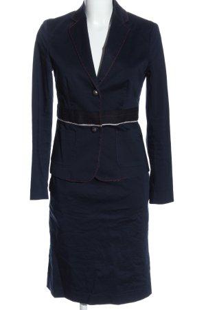 Brigitte von Boch Woven Twin Set blue business style