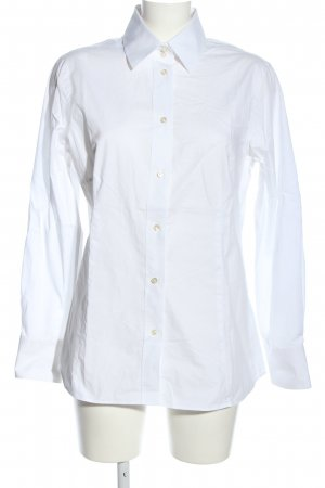 Brigitte von Schönfels Camicia blusa bianco stile professionale