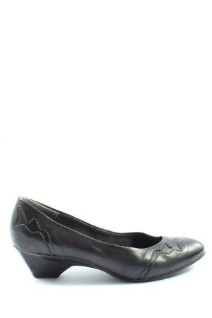 Brigitte von Servas Loafers zwart casual uitstraling