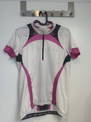 briko Basic Top white-pink