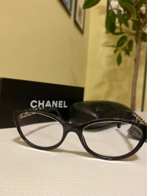 Chanel Glasses black-dark blue