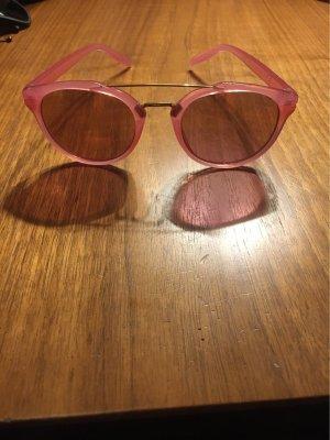 H&M Gafas rosa-color oro