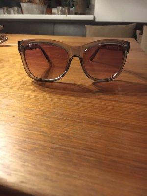 H&M Gafas marrón oscuro