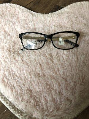 Gucci Glasses black-gold-colored