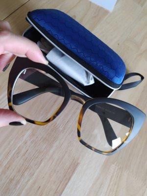 Bril zwart-bruin