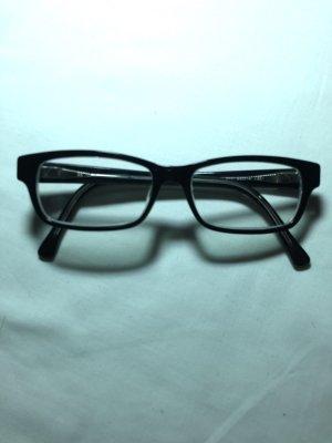 Brille Mädchen schwarz klar Fielmann Brillenbox