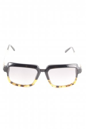Glasses multicolored extravagant style