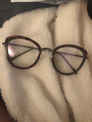 SheIn Gafas negro-marrón