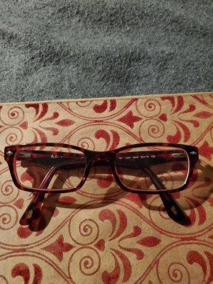 Ray Ban Hoekige zonnebril bordeaux