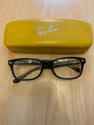 Brille Ray Ban Größe 48 in schwarz mit Stärke