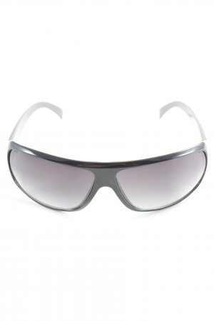 Glasses black-grey athletic style