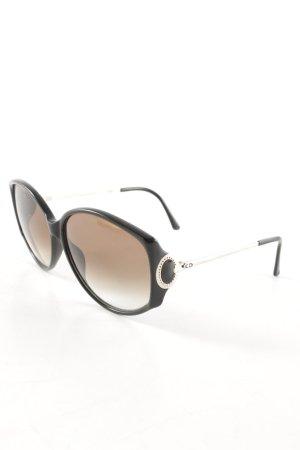 Glasses black brown elegant