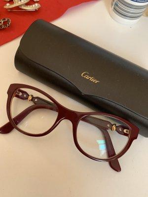 Cartier Lunettes rouge carmin