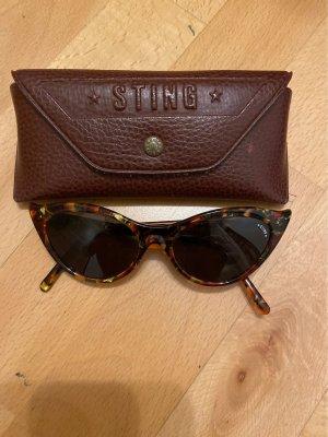 Sting Okulary brązowy