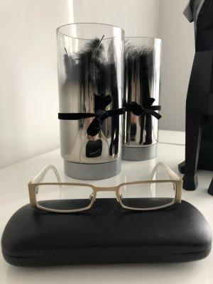 Brille von Mexx , weiß /gold