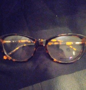 Rochas Okrągłe okulary przeciwsłoneczne brązowy