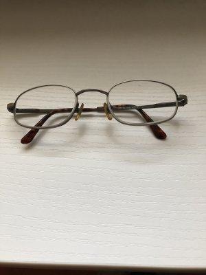 Gafas marrón-color plata