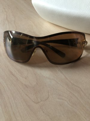 Chanel Lunettes brun noir
