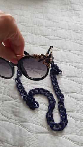 keine Marke bekannt Bril blauw