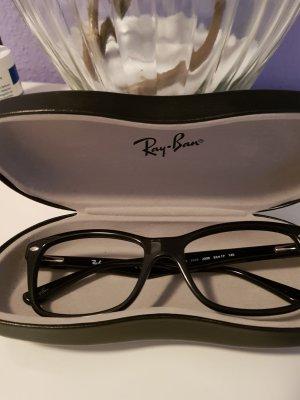 Brillenfassung von ray ban in schwarz