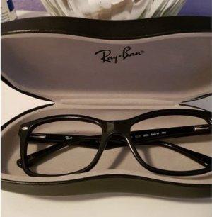 Brillenfassung von Ray Ban in schwarz ohne Gläser