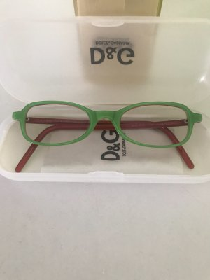 Dolce & Gabbana Lunettes rouge-vert fluo