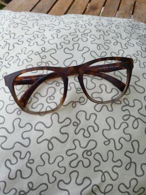 Diesel Okulary brązowy