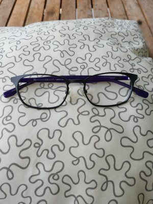 Freudenhaus Okulary czarny-fiolet