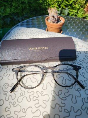 Oliver Peoples Okulary szary-ciemnobrązowy