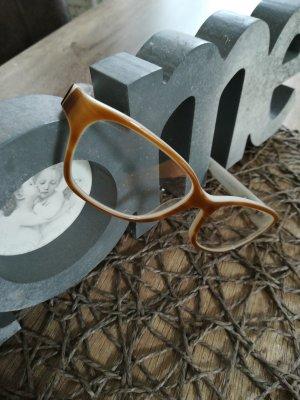 Emporio Armani Bril wolwit-beige kunststof