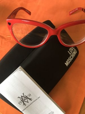 Love Moschino Glasses red