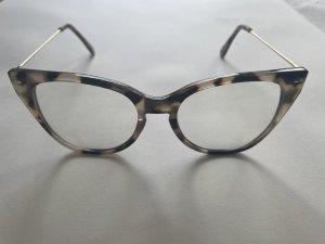 Zara Gafas beige-marrón claro