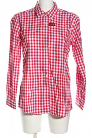 Brioso Checked Blouse red-white allover print casual look