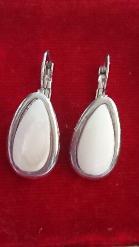 Silver Earrings silver-colored-oatmeal