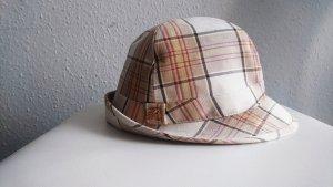 Cappello in tessuto multicolore
