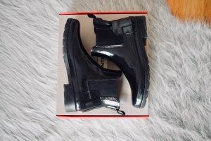 Britische HUNTER Chelsea Boots schwarz