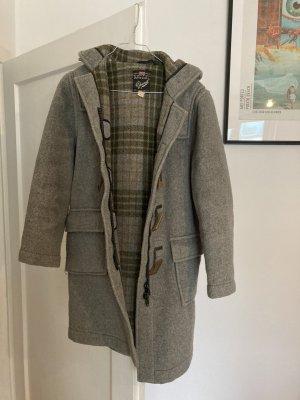 Britischer Duffle Coat aus Wolle