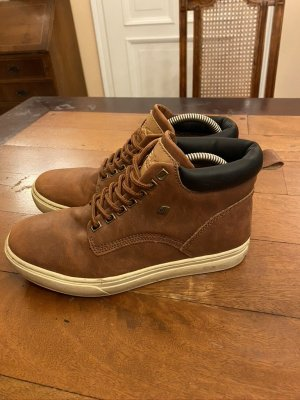 British Knights High Top Sneaker light brown leather