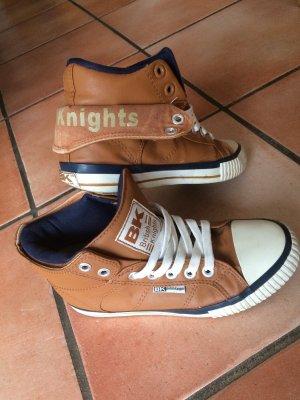 British Knights Schuhe, cognac/navy, Gr. 37