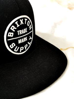 Brixton Supply Cap Schwarz Weiss