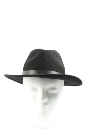 Brixton Wełniany kapelusz czarny W stylu casual